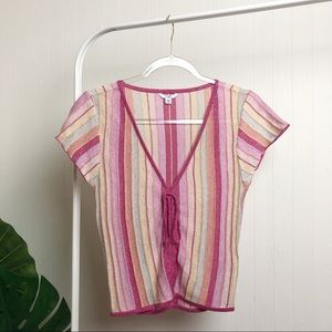 EUC >> Guess Short -Sleeved Sweater >> S-M